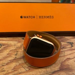 Hermès band + FREE Apple Watch 4 (seriously)